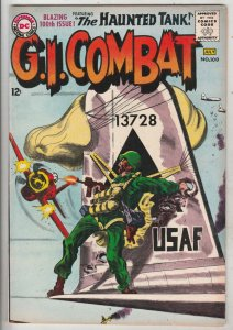 G.I. Combat #100 (Jul-63) VF+ Mid-High-Grade The Haunted Tank