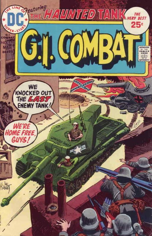 G.I. Combat #176 VG; DC | low grade comic - save on shipping - details inside