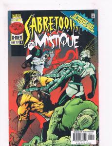Sabretooth & Mystique #4 VF/NM 1st Print Marvel Comic Book X-Men DE3