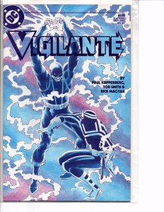 DC Comics Vigilante #23 Electrocutioner