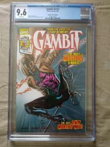 Gambit #1 CGC 9.6 Marvel Comics 1999 White Pages Dynamic Forces Edition