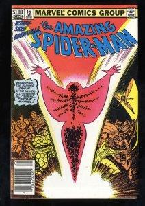 Amazing Spider-Man Annual #16 VG/FN 5.0 1st Monica Rambeau as Captain Marvel!