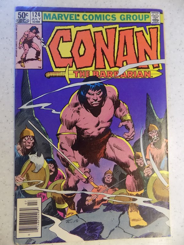 CONAN THE BARBARIAN # 124