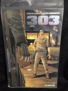 303 #5, NM, Garth Ennis, Burrows, Rifle, Avatar, 2004 2005, Platinum, COA