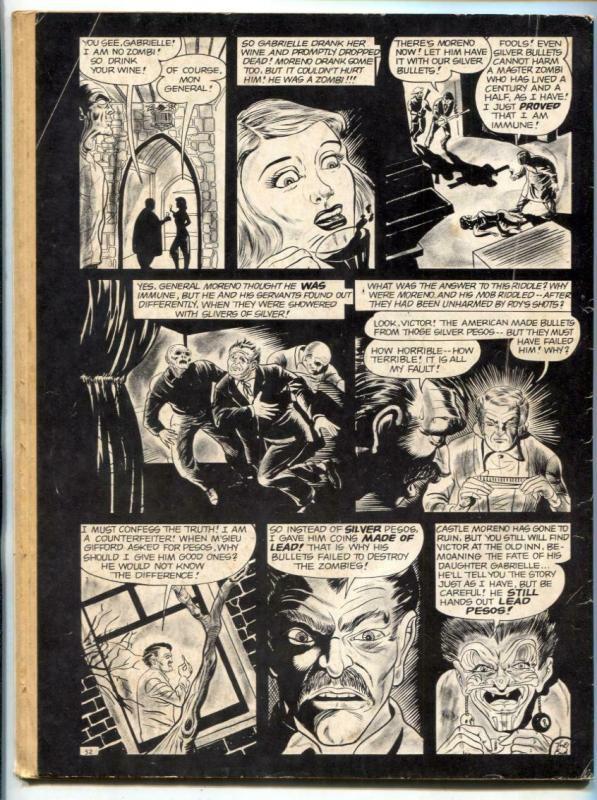 Weird Vol. 3 #1 1969-Eerie-weird menace-Carl Burgos-acid death cover- G