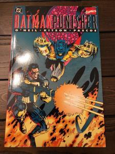Batman Punisher Lake Of Fire TPB * 1994 *