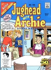 Jughead with Archie Digest Magazine #105 VF; Archie | save on shipping - details