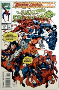 AMZING SPIDER-MAN #379  380   NM  TWO  Comics  MAXIMUM CARNAGE SPIDERMAN VENOM