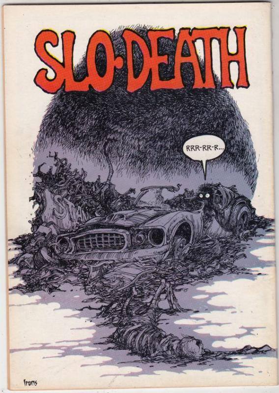 Slow Death #3 (Jan-71) VF/NM High-Grade