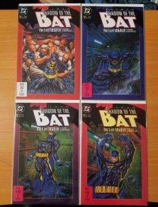 Batman Shadow of the Bat: The Last Arkham 1-4 Complete Set Run! ~ NEAR MINT NM ~