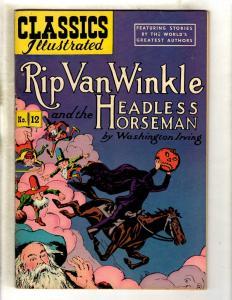 6 Classics Illustrated Comics #12 (71) 15 (71) 16 (20) 1 (78) 3 (21) 10 (78 JL26