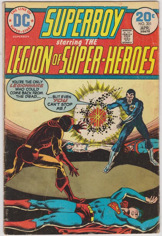 Superboy #201
