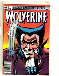 Wolverine # 1 NM Range Marvel Comic Book Mini Series Frank Miller X-Men HJ9