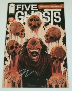 Five Ghosts #5 VF/NM; signed by Frank J. Barbiere - Image Comics