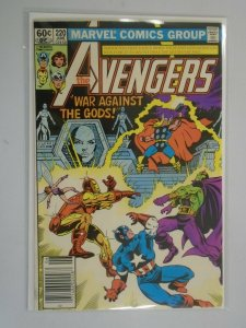 Avengers #220 Newsstand edition 7.0 FN VF (1982 1st Series)
