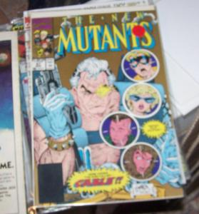 NEW MUTANTS  # 87 1980  GOLD COVER 1ST CABLE KEY X FACTOR LIEFELD MCFARLANE