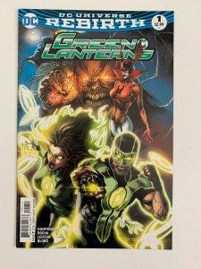 Green Lanterns 1:  DC Comics: 2016 NM