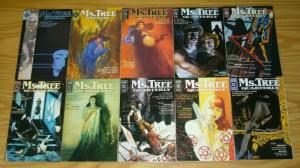Ms. Tree Quarterly #1-10 complete series MAX A. COLLINS terry beatty 2 3 4 5 6 7