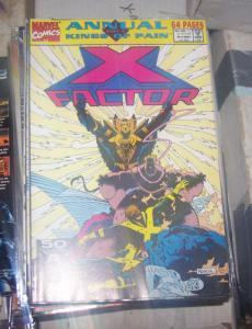 X-Factor Annual #6 (1991, Marvel) XMEN NEW WARIORS MUTANTS KINGS OF PAIN PT 4**