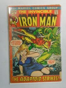 Iron Man #49 (1972 1st Series) 3.0/GD