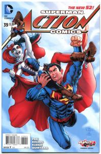 ACTION COMICS #39, NM, Harley Quinn, 2011, New 52, Variant, more HQ in store