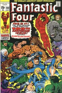 Fantastic Four #100 (ungraded) stock photo / SCM