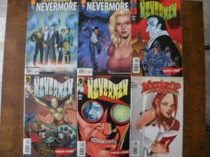 6 Comic Book: Dean Koontz's NEVERMORE #1 2 THE NEVERMEN #1 2 3 MEKANIX #1