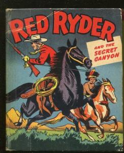 RED RYDER-BIG LITTLE BOOK-#1454-1948-THE SECRET CANYON-FRED HARMAN-vg minus