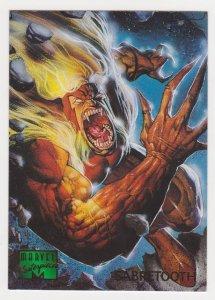 1995 Marvel Masterpieces #85 Sabretooth