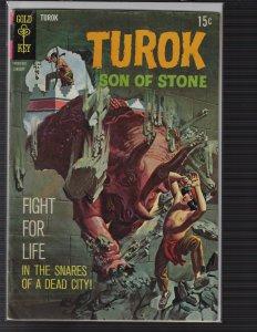 Turok, Son of Stone #69 (Gold Key, 1969)