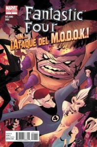 Fantastic Four (2003 series) In Ataque del M.O.D.O.K #1, VF+ (Stock photo)