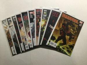 Deadpool 1-8 10 11 16-22 27-38 33.1 Lot Run Set Near Mint Nm Marvel