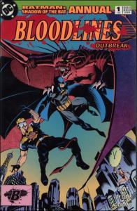 DC BATMAN: SHADOW OF THE BAT Annual #1 VF