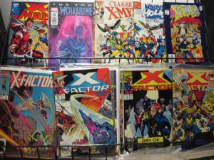 Kochcomics X-MEN Spinoff Titles Lot of 160 WYSIWYG New Mutants etc 1980s-00s SWB