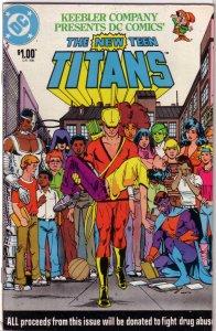 New Teen Titans  (drug awareness)   #1 B GD/VG