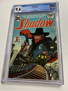 The Shadow 1 Cgc 9.6 Ow/w Pages Dc Comics Bronze Age Mike Kaluta 2040156011