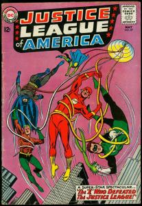 Justice League of America #27 1964- DC Silver Age- Green Lantern VG