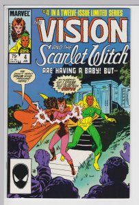 Vision and the Scarlet Witch #4   Jan 1986 - NM-
