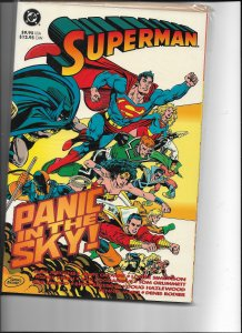 Superman Panic in the Sky NM Trade paper back