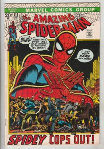 Amazing Spider-Man #112 (Sep-72) VF High-Grade Spider-Man