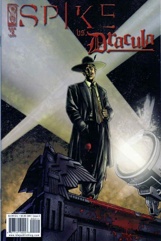 Dracula #4B FN 2006 Stock Image Spike vs