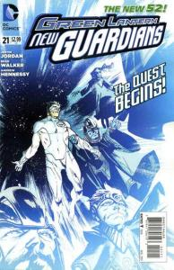 Green Lantern: New Guardians #21, NM + (Stock photo)