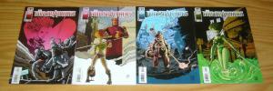 Bodysnatchers #1-4 VF/NM complete series - GG studio design comics set lot 2 3