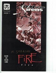 Song of the Sirens #1 VF/NM signed by Naser Subashi - Millennium - Fire