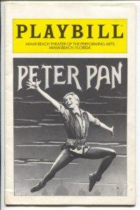 Peter Pan - Play Bill 4/1981-Sandy Duncan-Miami Theater of Performing Arts-FN