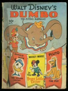 WALT DISNEY'S DUMBO #17 1941-FOUR COLOR COMICS-SERIES I G+