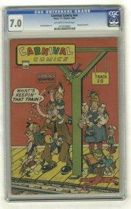 Carnival Comics #nn - CGC 7.0 - Harry A Chesler - 1945 - Fred Guardineer Art!
