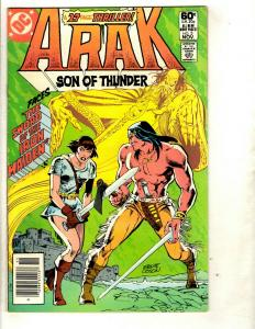12 Arak Son of Thunder DC Comics # 3 4 5 8 20 21 22 23 25 27 28 Annual # 1 EK4