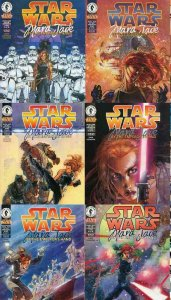 STAR WARS MARA JADE BY THE EMPERORS HAND (1998 DH) 1-6