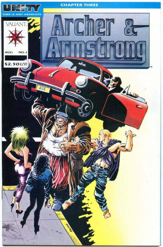 ARCHER & ARMSTRONG # 0 1 2 3 4 5 6 7 8 9 10-25, VF/NM, Valiant, 1992, 0-25